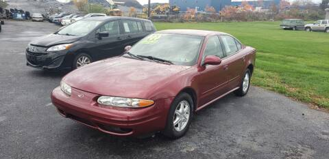 2002 Oldsmobile Alero for sale at Credit Connection Auto Sales Inc. CARLISLE in Carlisle PA