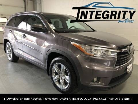 2015 Toyota Highlander for sale at Integrity Motors, Inc. in Fond Du Lac WI