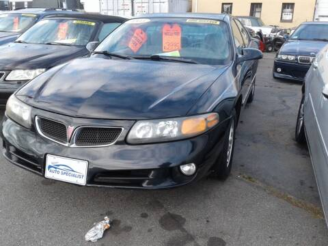 2005 Pontiac Bonneville for sale at Nelsons Auto Specialists in New Bedford MA