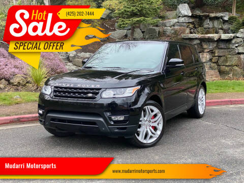 2014 Land Rover Range Rover Sport for sale at Mudarri Motorsports in Kirkland WA