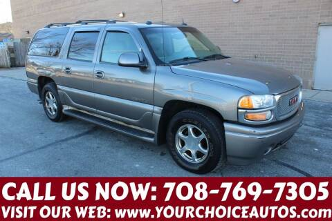 2005 GMC Yukon XL for sale at Your Choice Autos in Posen IL