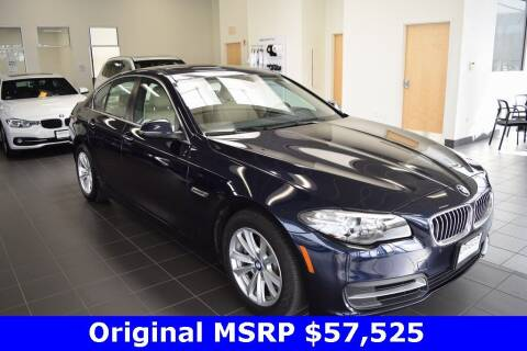 2014 BMW 5 Series for sale at BMW OF NEWPORT in Middletown RI