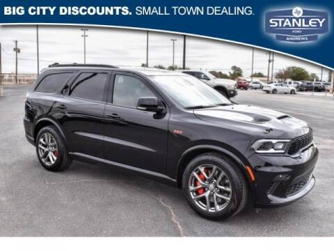 2021 Dodge Durango for sale at STANLEY FORD ANDREWS in Andrews TX