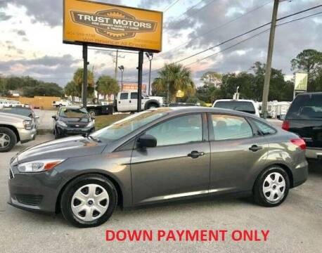 2015 Ford Focus for sale at Trust Motors in Jacksonville FL