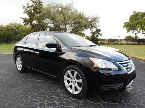 2013 Nissan Sentra for sale at SUPER DEAL MOTORS 441 in Hollywood FL