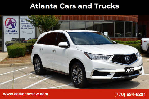 2018 Acura MDX for sale at Atlanta Cars and Trucks in Kennesaw GA