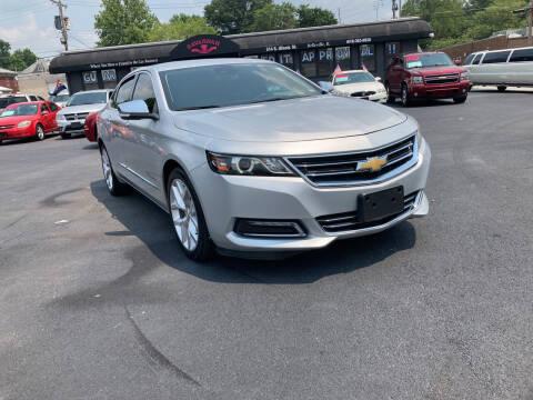 2017 Chevrolet Impala for sale at Savannah Motors in Belleville IL