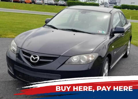 2007 Mazda MAZDA3 for sale at Lancaster Auto Detail & Auto Sales in Lancaster PA