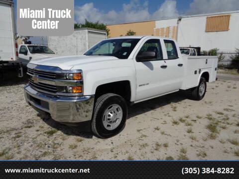 2016 Chevrolet Silverado 2500HD for sale at Miami Truck Center in Hialeah FL
