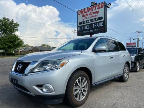 2016 Nissan Pathfinder for sale at Unlimited Auto Group in West Chester OH