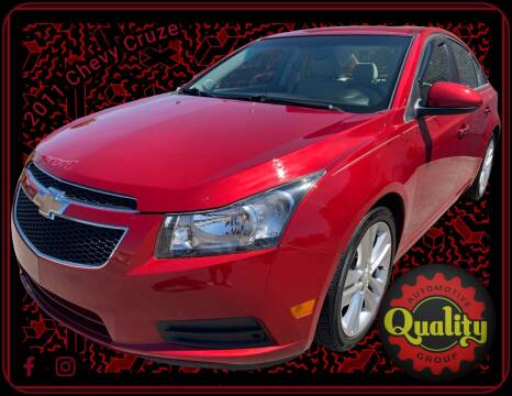 Chevrolet Cruze For Sale In Murfreesboro Tn Quality Automotive Group Inc