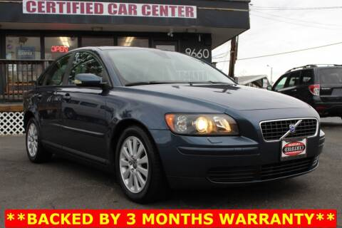 2005 Volvo S40 for sale at CERTIFIED CAR CENTER in Fairfax VA