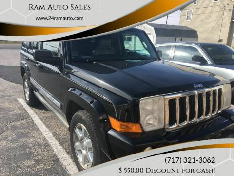 2006 Jeep Commander for sale at Ram Auto Sales in Gettysburg PA