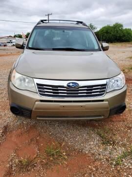 2009 Subaru Forester for sale at Advantage Auto Sales in Wichita Falls TX