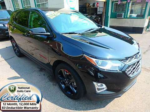 2019 Chevrolet Equinox for sale at Jon's Auto in Marquette MI