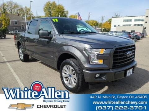 2017 Ford F-150 for sale at WHITE-ALLEN CHEVROLET in Dayton OH