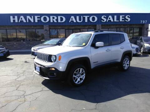 2015 Jeep Renegade for sale at Hanford Auto Sales in Hanford CA