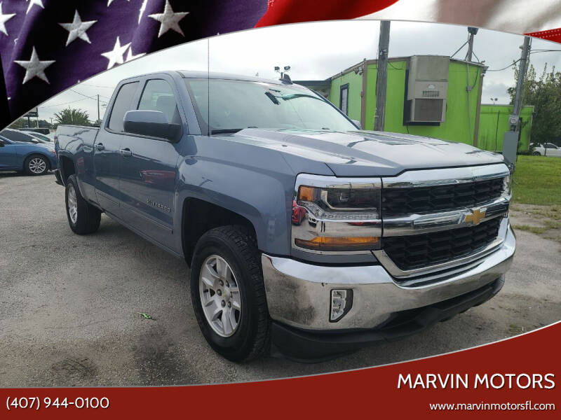 2016 Chevrolet Silverado 1500 for sale at Marvin Motors in Kissimmee FL