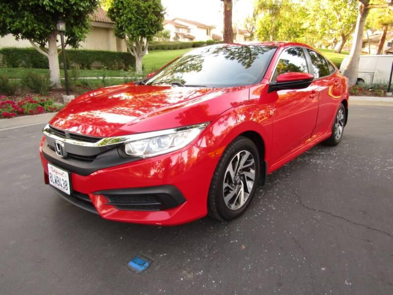 2016 Honda Civic for sale at E MOTORCARS in Fullerton CA
