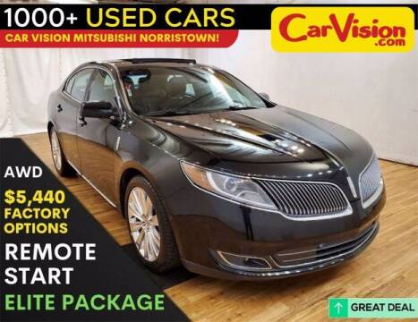 2014 Lincoln MKS for sale at Car Vision Buying Center in Norristown PA