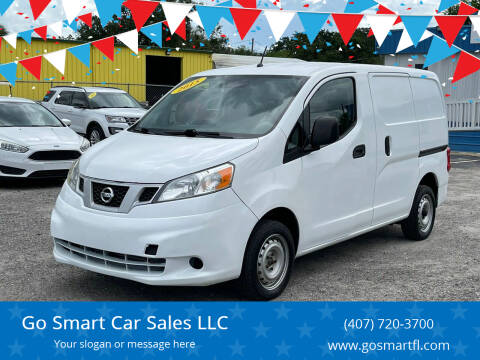 2015 Nissan NV200 for sale at Go Smart Car Sales LLC in Winter Garden FL