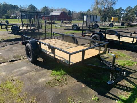 2021 New Triple Crown 5x10 Utility Trailer for sale at Tripp Auto & Cycle Sales Inc in Grimesland NC