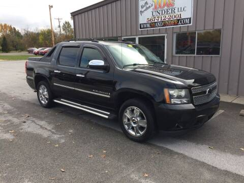 2009 Chevrolet Avalanche for sale at KEITH JORDAN'S 10 & UNDER in Lima OH