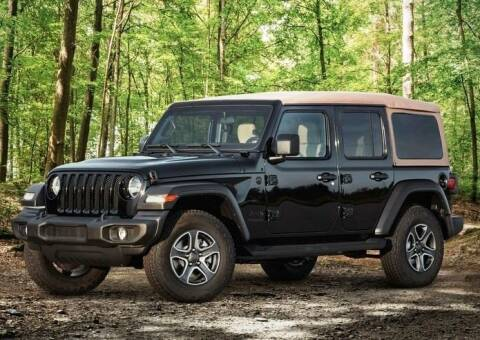 2020 Jeep Wrangler Unlimited for sale at Diamante Leasing in Brooklyn NY