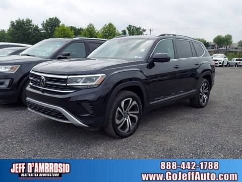 2021 Volkswagen Atlas for sale at Jeff D'Ambrosio Auto Group in Downingtown PA