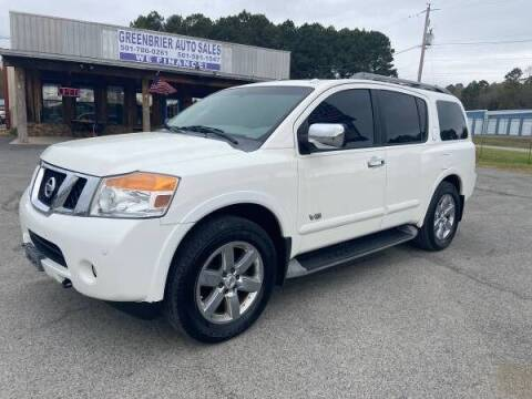 2009 Nissan Armada for sale at Greenbrier Auto Sales in Greenbrier AR