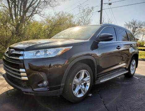 2017 Toyota Highlander for sale at Tennessee Imports Inc in Nashville TN