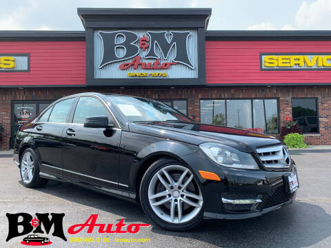 2013 Mercedes-Benz C-Class for sale at B & M Auto Sales Inc. in Oak Forest IL