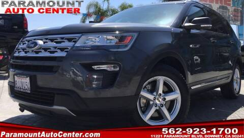2019 Ford Explorer for sale at PARAMOUNT AUTO CENTER in Downey CA