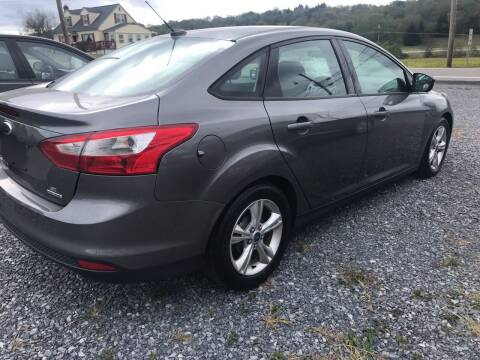 2013 Ford Focus for sale at CESSNA MOTORS INC in Bedford PA