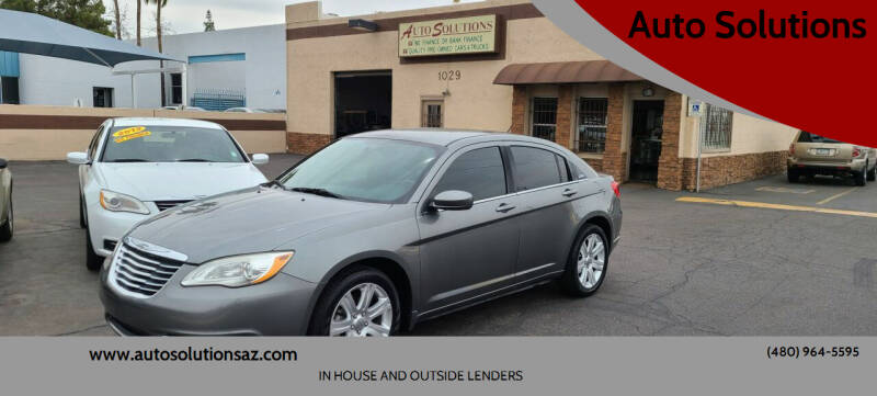 2011 Chrysler 200 for sale at Auto Solutions in Mesa AZ