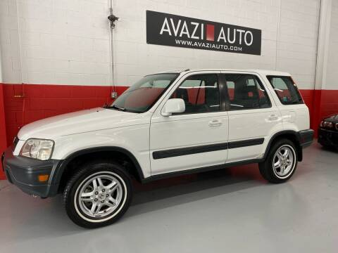 1999 Honda CR-V for sale at AVAZI AUTO GROUP LLC in Gaithersburg MD