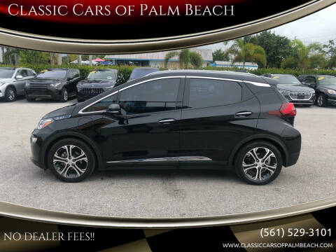 2019 Chevrolet Bolt EV for sale at Classic Cars of Palm Beach in Jupiter FL