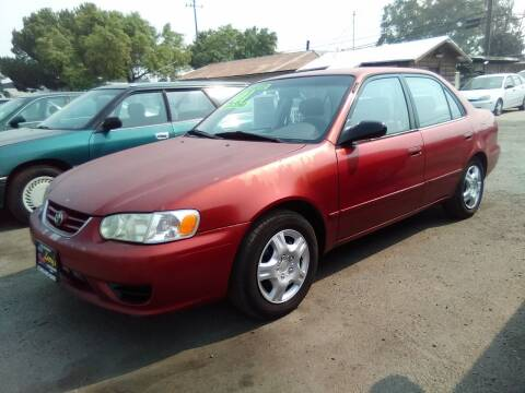 2001 Toyota Corolla for sale at Larry's Auto Sales Inc. in Fresno CA