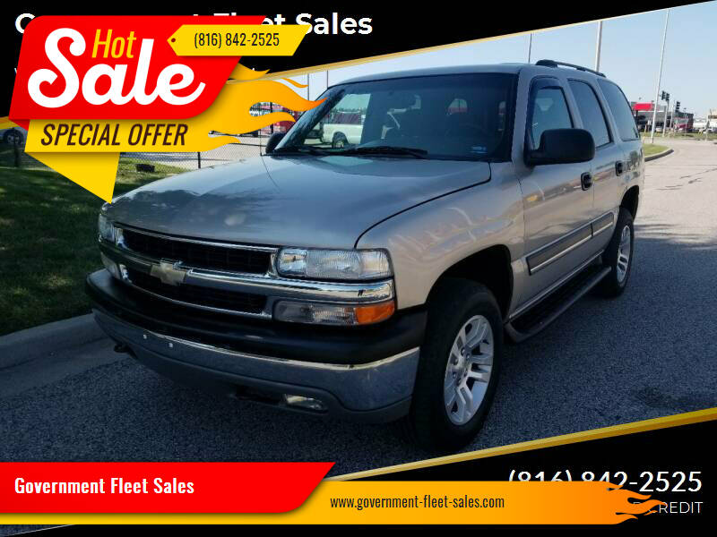 2004 Chevrolet Tahoe for sale at Government Fleet Sales - Buy Here Pay Here in Kansas City MO
