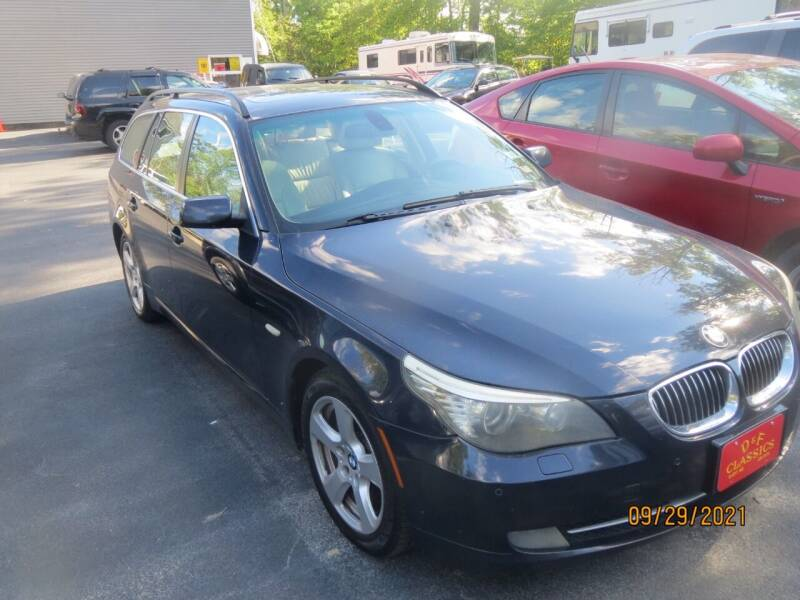 2008 BMW 5 Series for sale at D & F Classics in Eliot ME