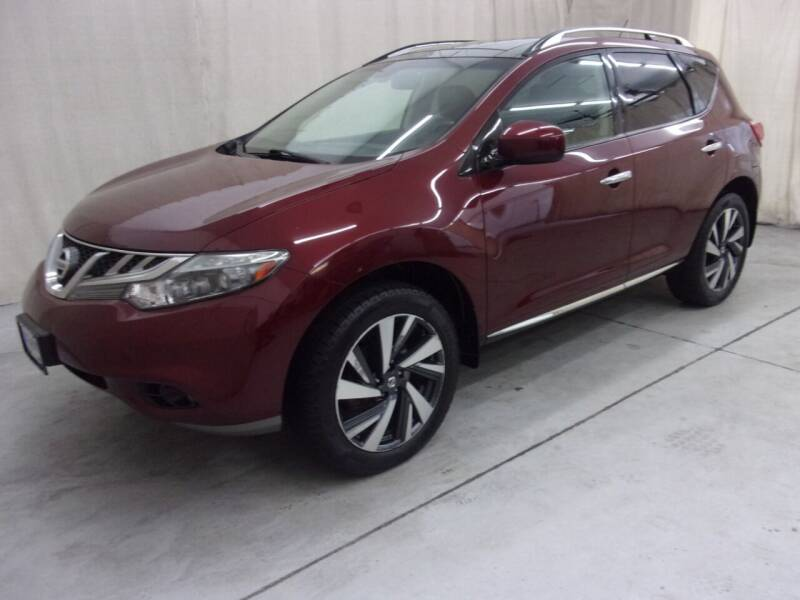 2012 Nissan Murano for sale at Paquet Auto Sales in Madison OH