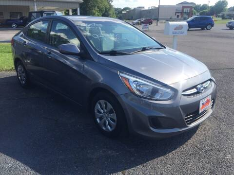 2017 Hyundai Accent for sale at McCully's Automotive in Benton KY
