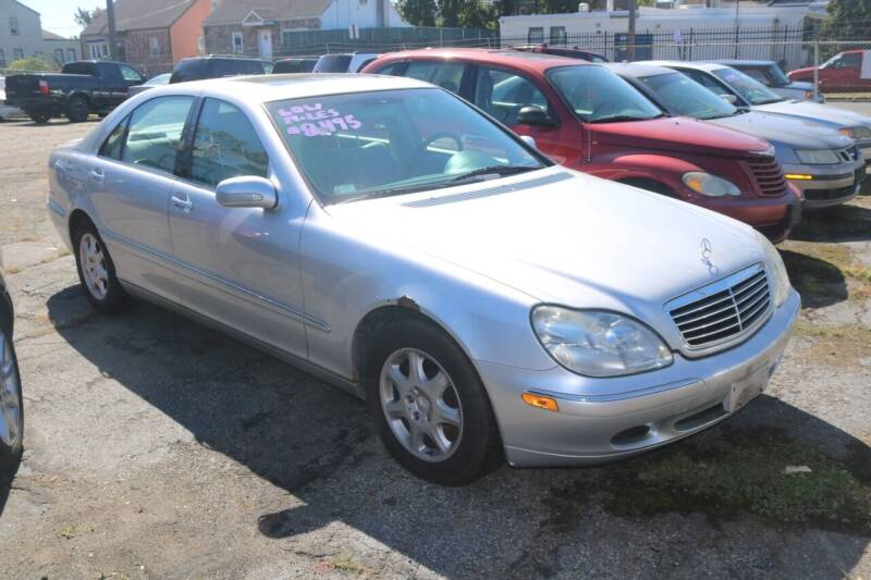 2000 Mercedes-Benz S-Class for sale at Urglavitch Auto Sales of NJ in Trenton NJ