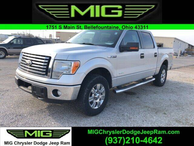 2012 Ford F-150 for sale at MIG Chrysler Dodge Jeep Ram in Bellefontaine OH