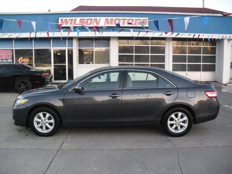 2011 Toyota Camry for sale at Wilson Motors in Junction City KS
