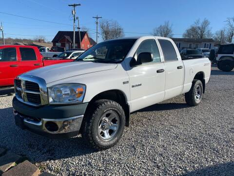 2008 Dodge Ram Pickup 1500 for sale at HILLS AUTO LLC in Henryville IN