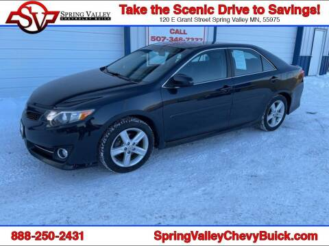 2013 Toyota Camry for sale at Spring Valley Chevrolet Buick in Spring Valley MN