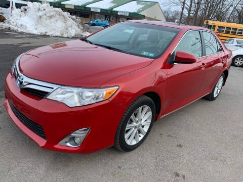 2013 Toyota Camry Hybrid for sale at Sam's Auto in Akron PA