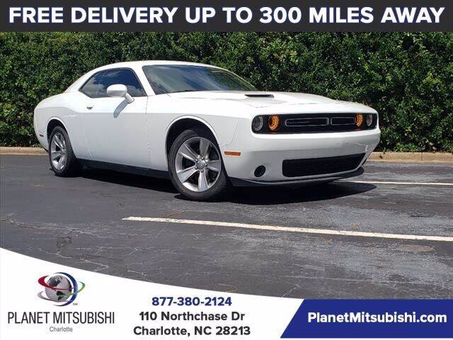 2016 Dodge Challenger for sale at Planet Automotive Group in Charlotte NC