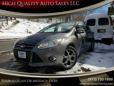 2013 Ford Focus for sale at High Quality Auto Sales LLC in Bloomingdale NJ